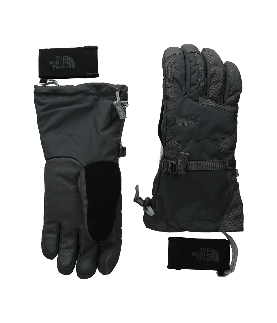 The North Face - Triclimate Etip Glove (Asphalt Grey) Extreme Cold Weather Gloves