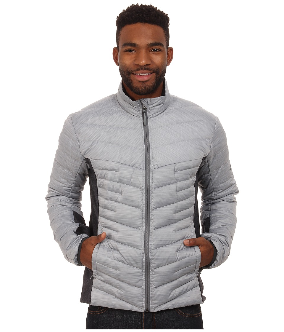adidas Outdoor - Alpherr Hybrid Jacket (Clear Onix/Melange) Men