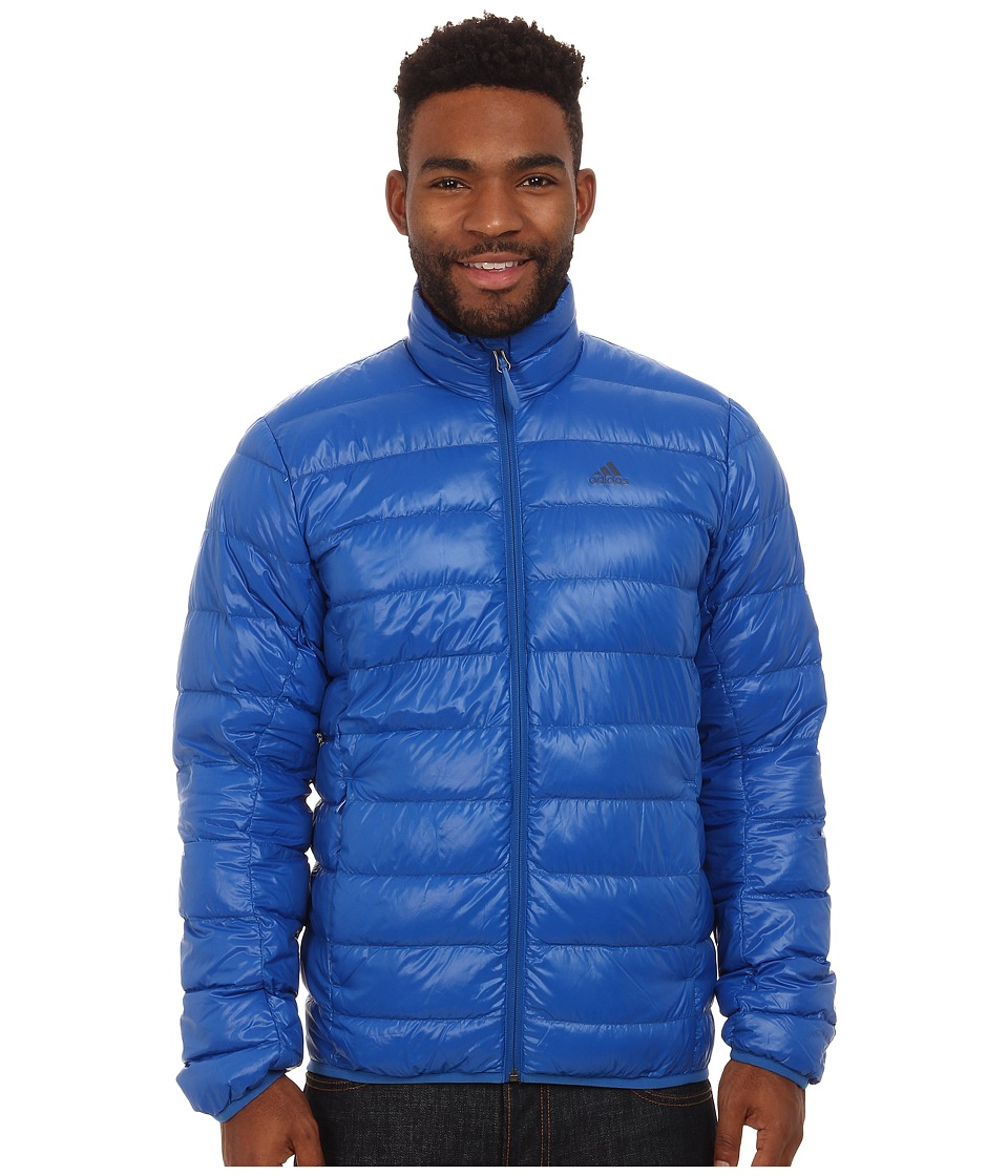 adidas Outdoor - Light Down Jacket (Blue Beauty) Men's Coat