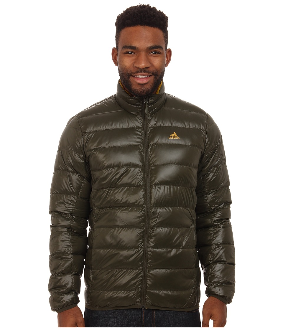 adidas Outdoor - Light Down Jacket (Night Cargo) Men's Coat
