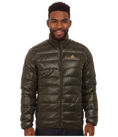 adidas Outdoor - Light Down Jacket (Night Cargo) Men