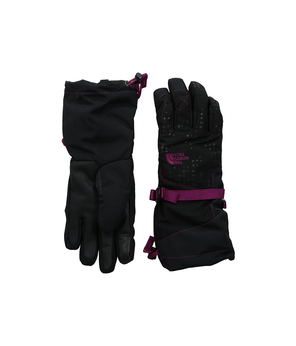 The North Face - Revelstoke Etip Glove (TNF Black/Dramatic Plum) Extreme Cold Weather Gloves