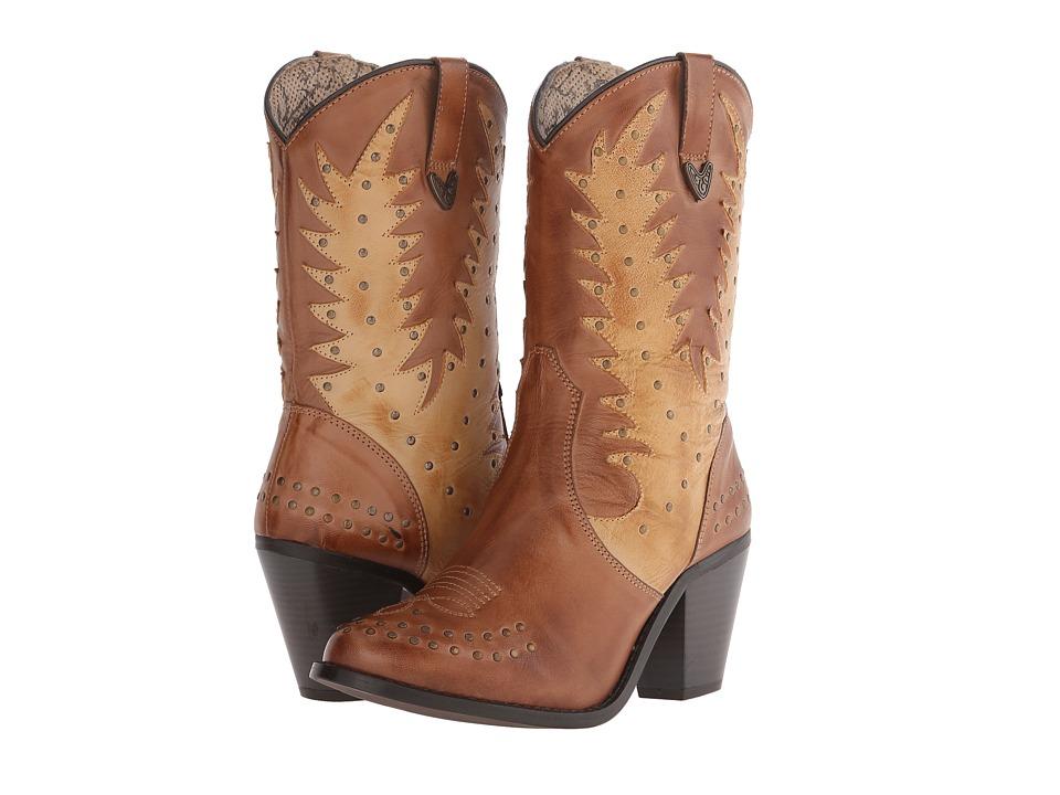 Dingo - Libby (Almond) Cowboy Boots
