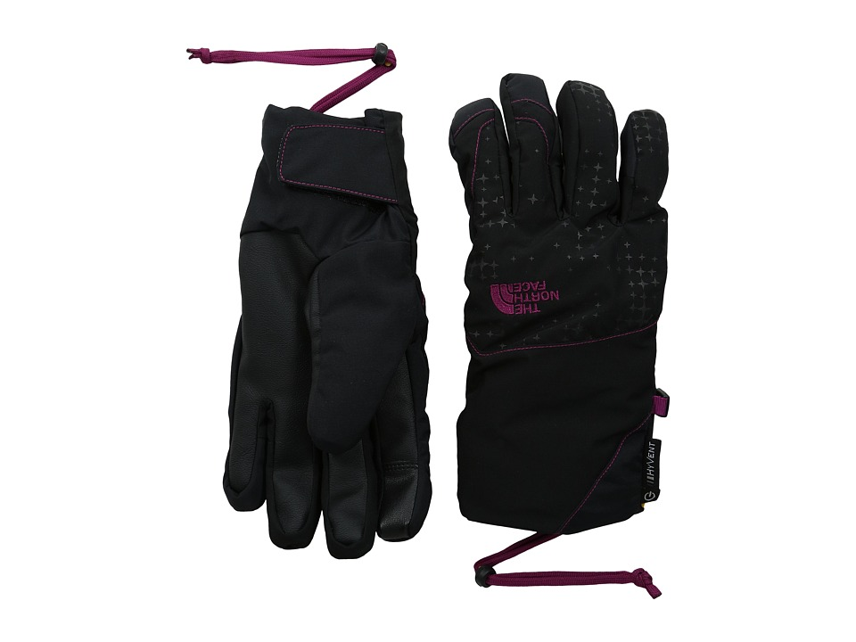 The North Face - Guardian Etip Glove (TNF Black/Dramatic Plum) Extreme Cold Weather Gloves