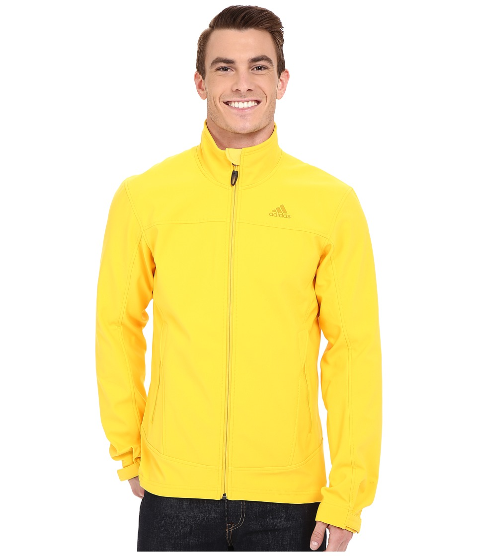 adidas Outdoor - Hiking Softshell Jacket (Super Yellow) Men's Coat