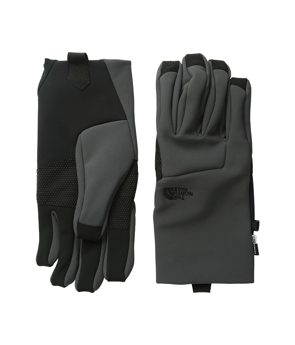 The North Face - Men's Apex Etip Glove (Asphalt Grey) Extreme Cold Weather Gloves