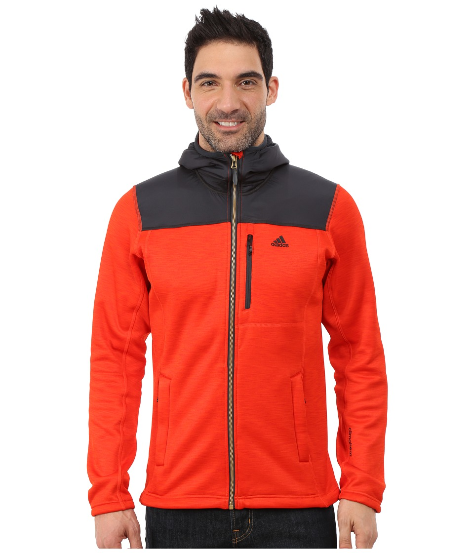 adidas Outdoor - Climaheat Hoodie (Bold Orange) Men's Sweatshirt