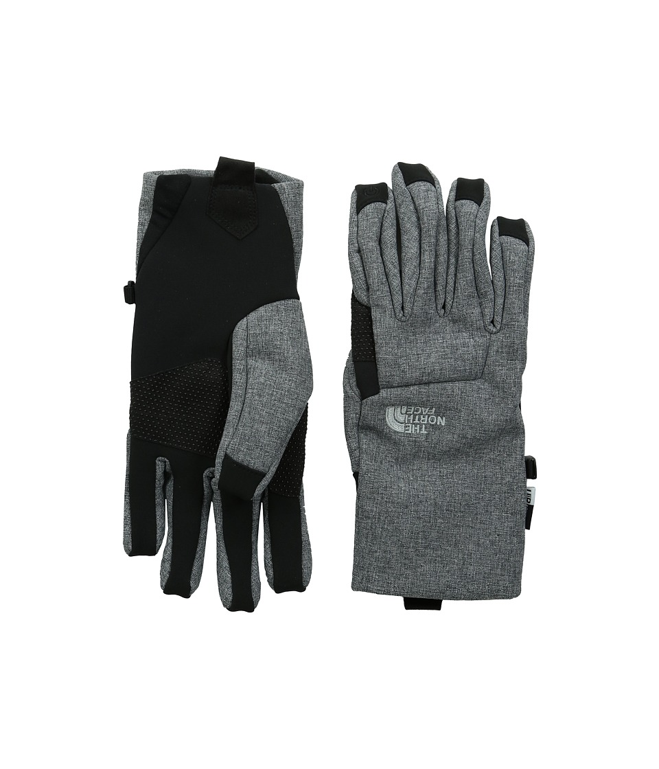The North Face - Apex Etip Glove (High Rise Grey Heather) Extreme Cold Weather Gloves