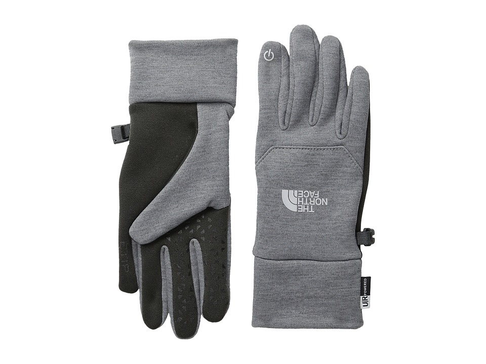 The North Face - Women's Etip Glove (High Rise Grey Heather) Extreme Cold Weather Gloves