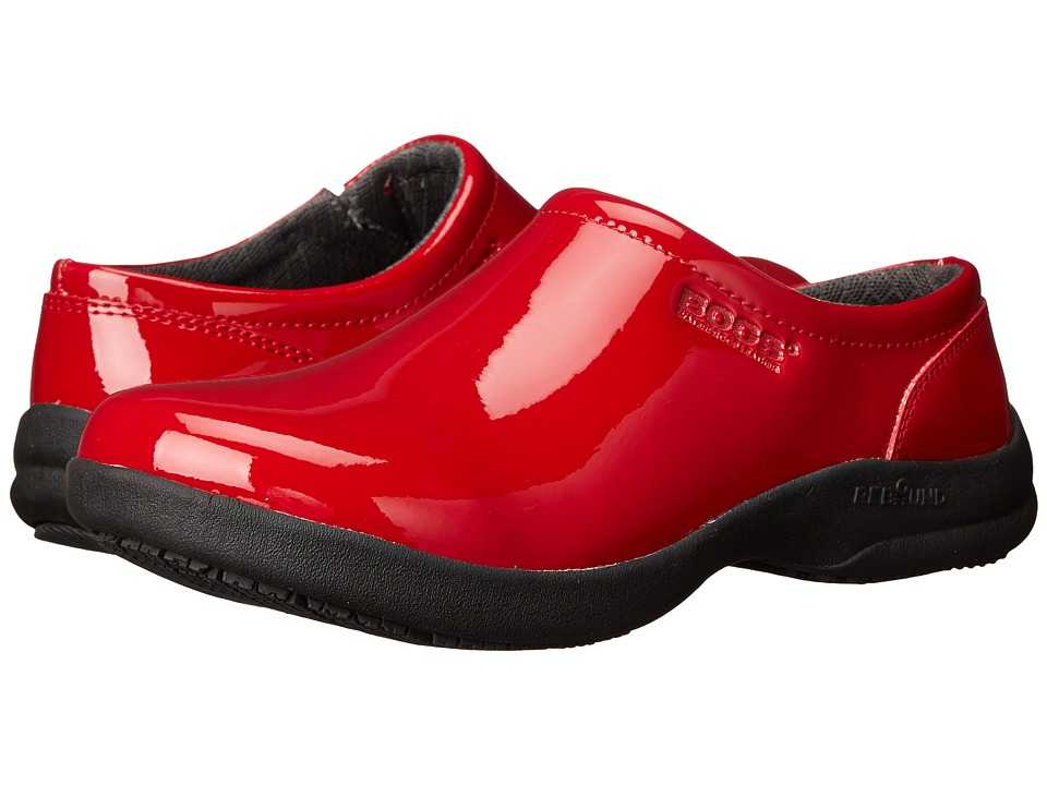 Bogs Ramsey Patent Leather (Red) Women
