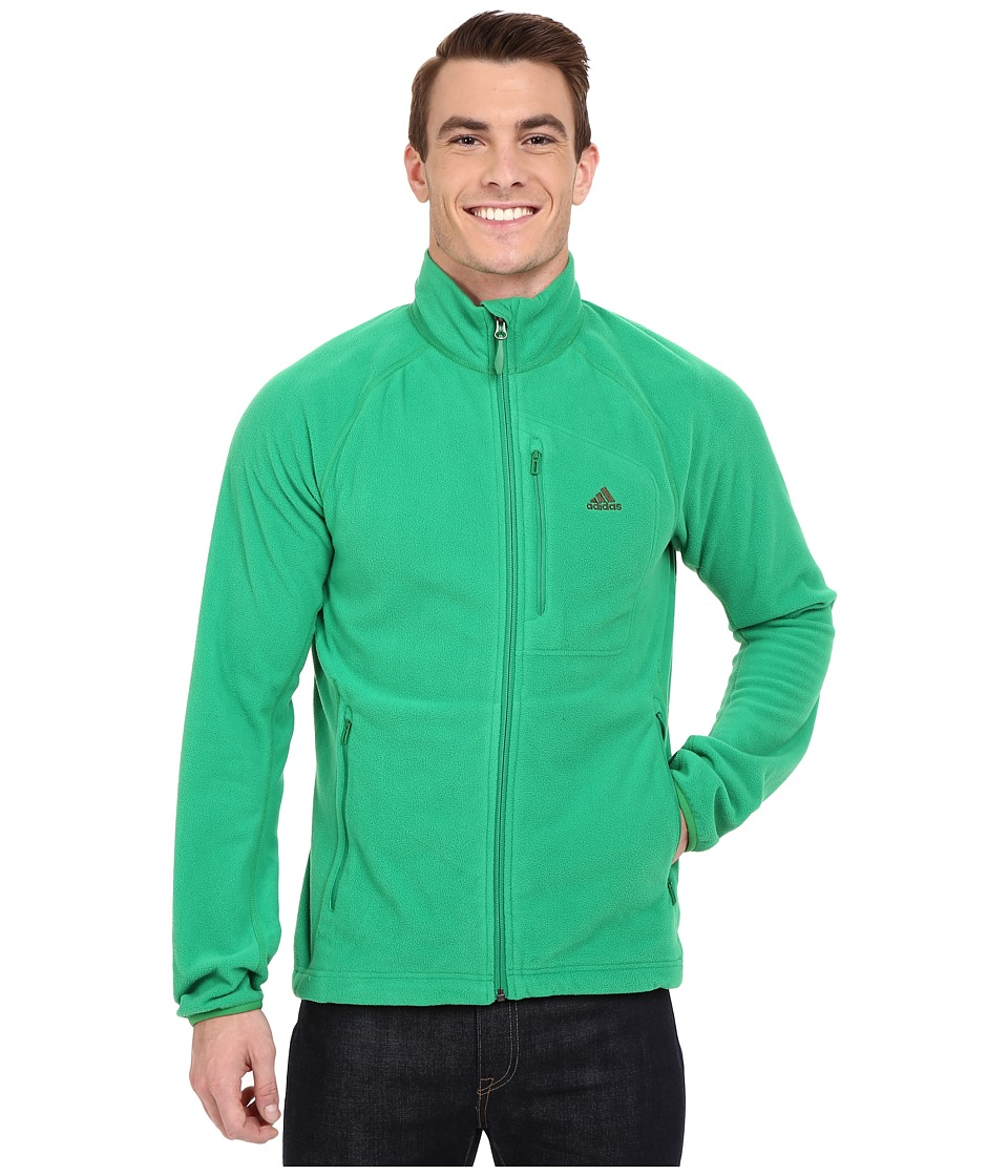 adidas Outdoor - Reachout Jacket (Green) Men's Coat