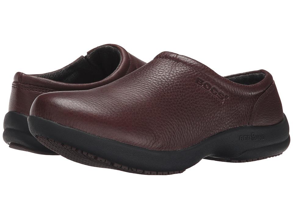 Bogs - Ramsey Leather (Mocha) Women's Slip on Shoes