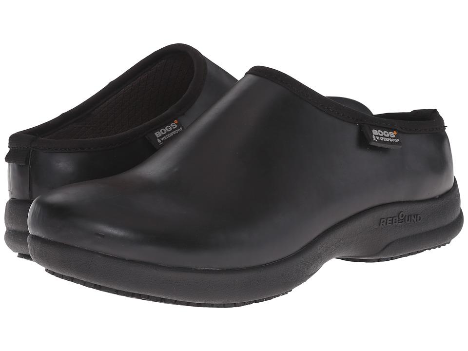 Bogs - Oliver Solid (Black) Women's Slip on Shoes
