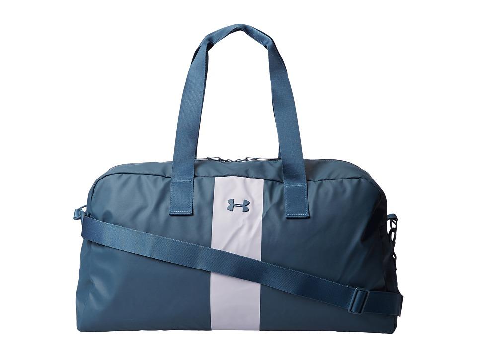 Under Armour - UA The Bag (Mechanic Blue/Cloud Gray/Mechanic Blue) Top-Zip Handbags