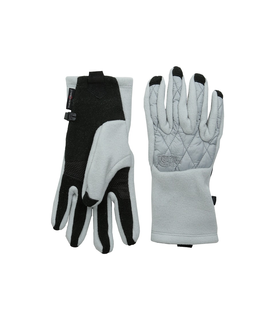 The North Face - ThermoBall Etip Glove (High Rise Grey) Extreme Cold Weather Gloves