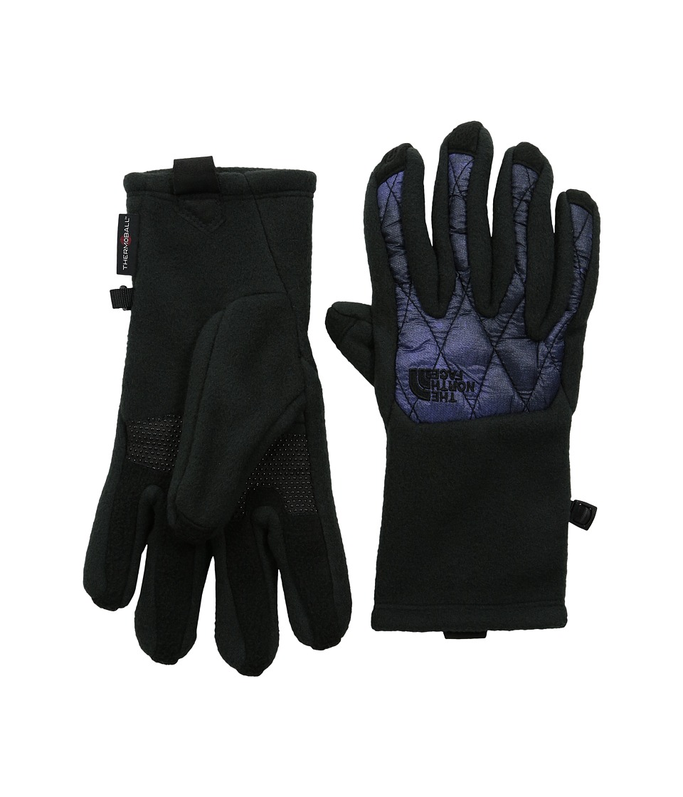 The North Face - ThermoBall Etip Glove (TNF Black/Garnet Purple Galactic Print) Extreme Cold Weather Gloves