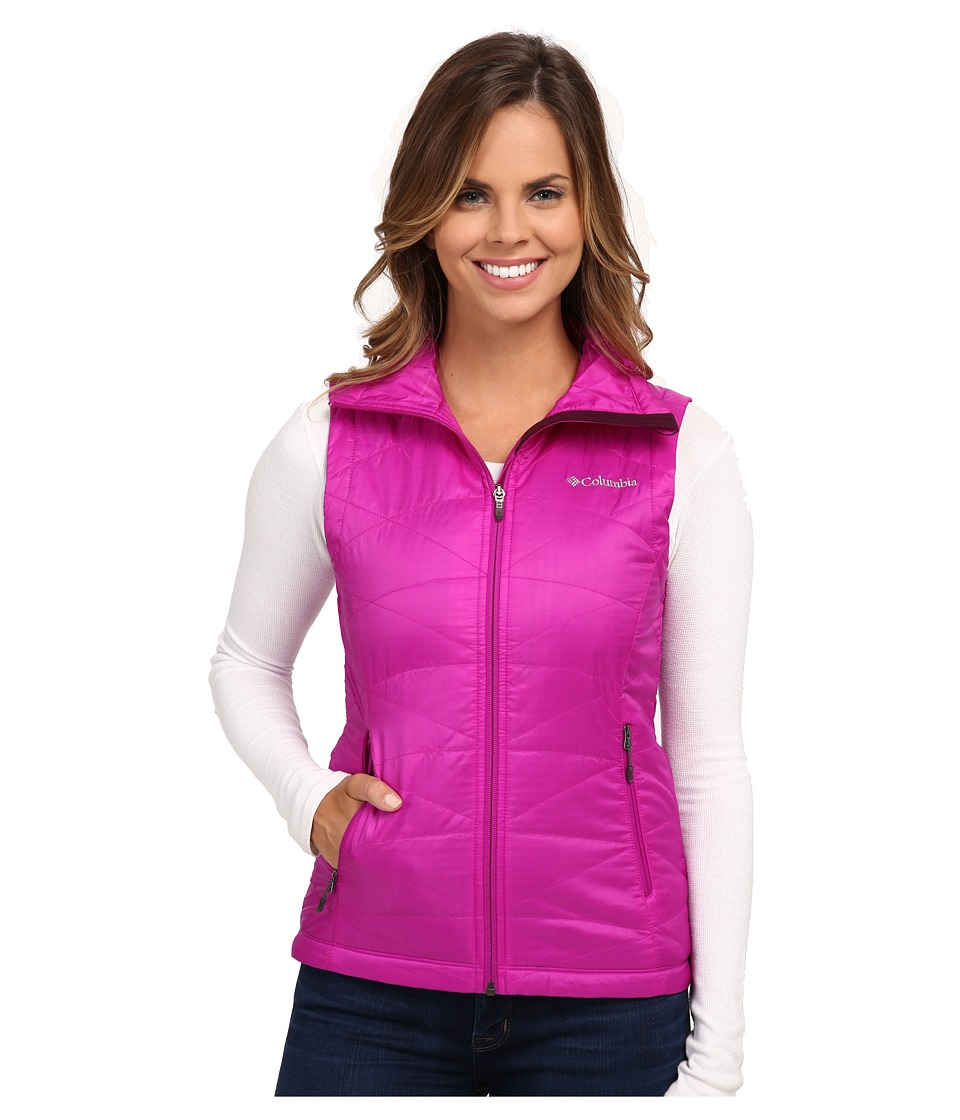 Columbia - Mighty Lite III Vest (Bright Plum) Women's Vest