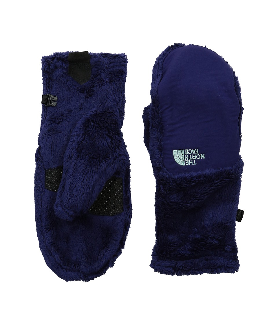 The North Face - Denali Thermal Mitt (Garnet Purple/Surf Green) Extreme Cold Weather Gloves