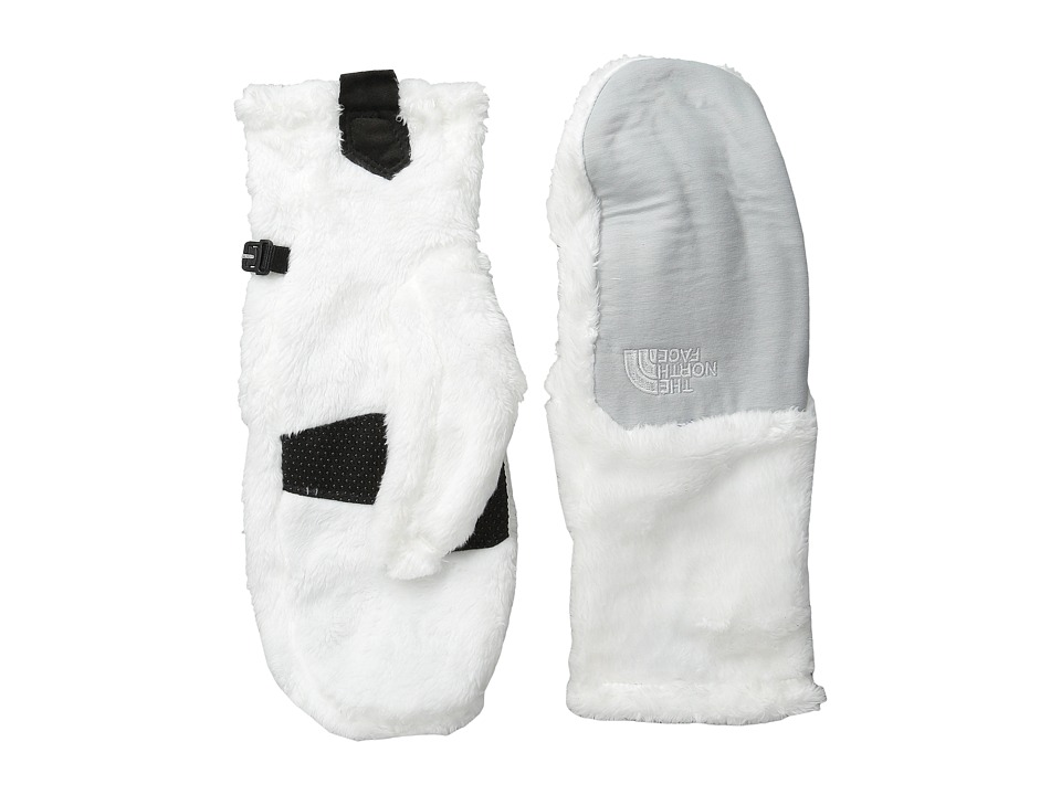 The North Face - Denali Thermal Mitt (TNF White/High Rise Grey Heather) Extreme Cold Weather Gloves