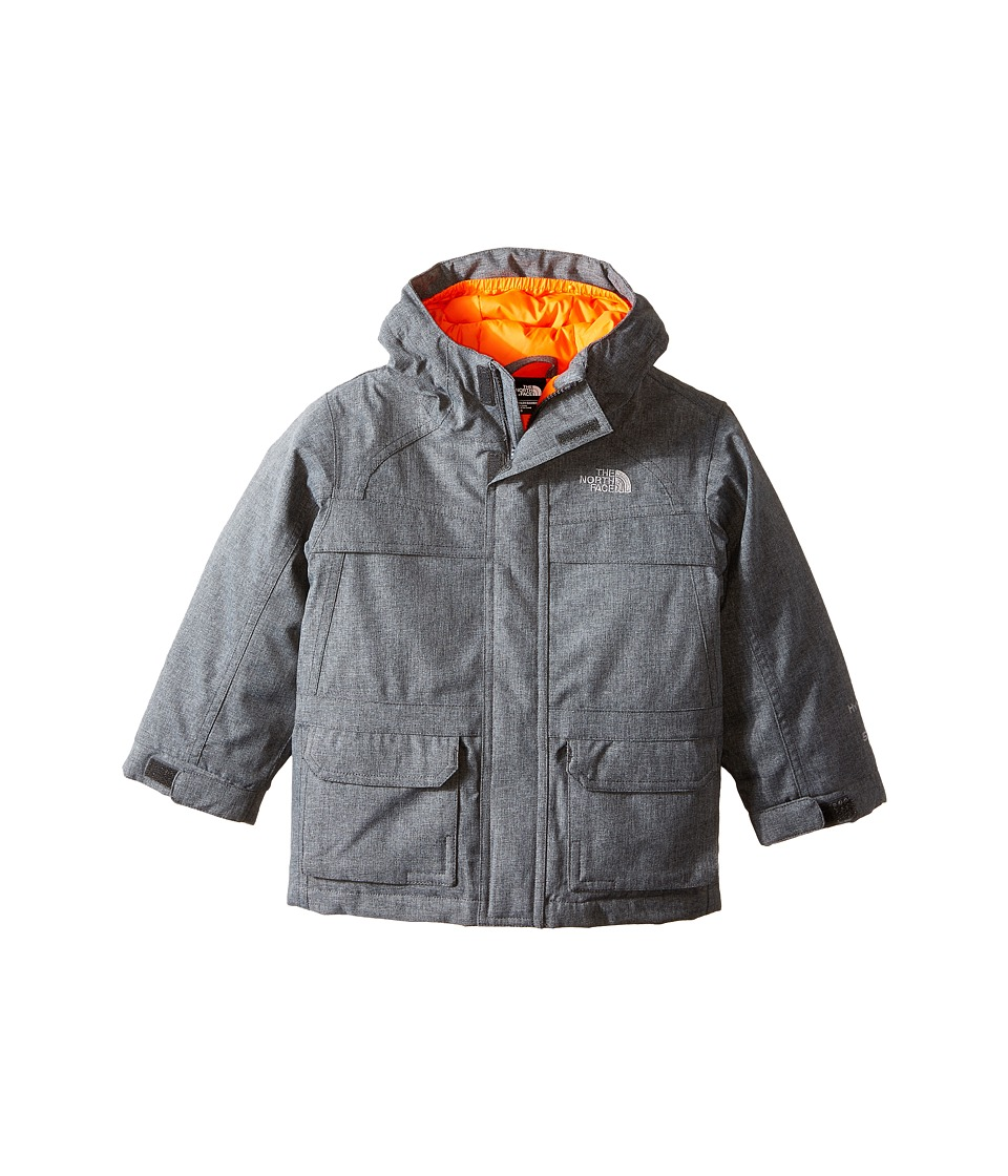 The North Face Kids McMurdo Down Jacket (Toddler) (Charcoal Grey Heather) Boy