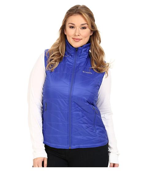 Columbia - Plus Size Mighty Lite III Vest (Light Grape 2) Women