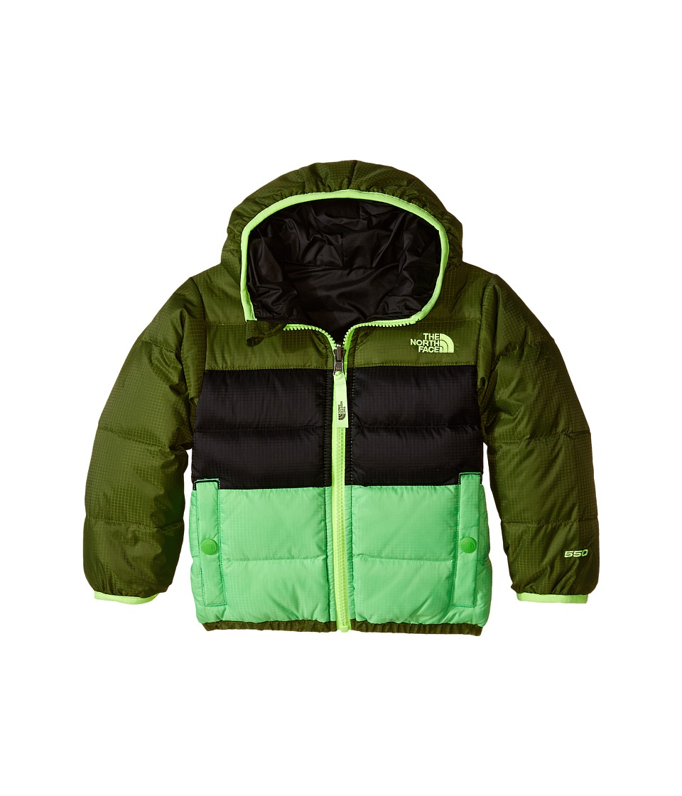 The North Face Kids Reversible Moondoggy Jacket (Toddler) (Scallion Green) Boy