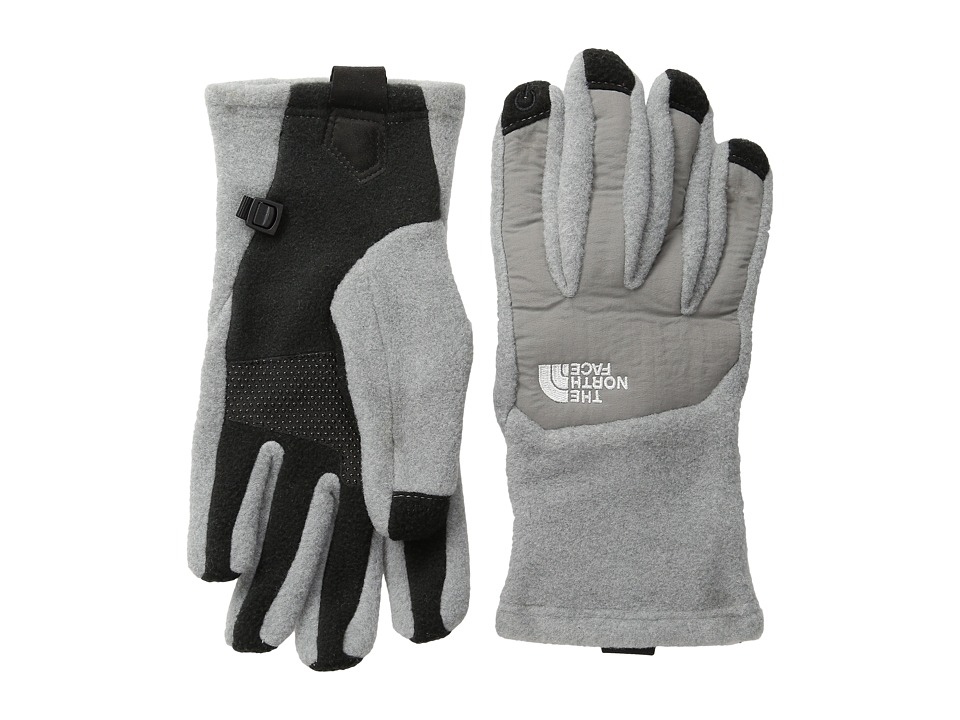 The North Face - Denali Etip Glove (High Rise Grey Heather/Pache Grey) Extreme Cold Weather Gloves