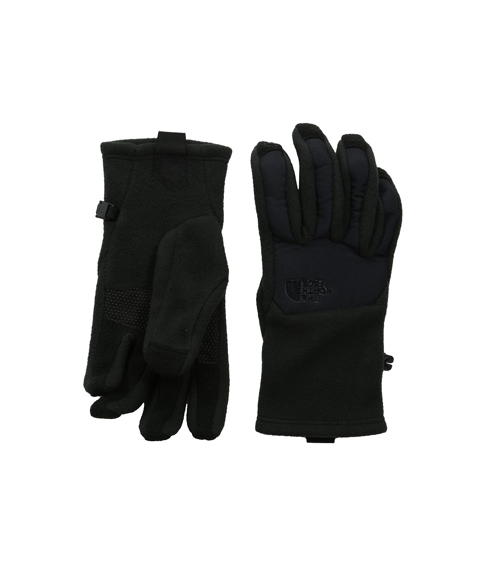 The North Face - Denali Etip Glove (TNF Black/Garnet Purple Galactic Print) Extreme Cold Weather Gloves