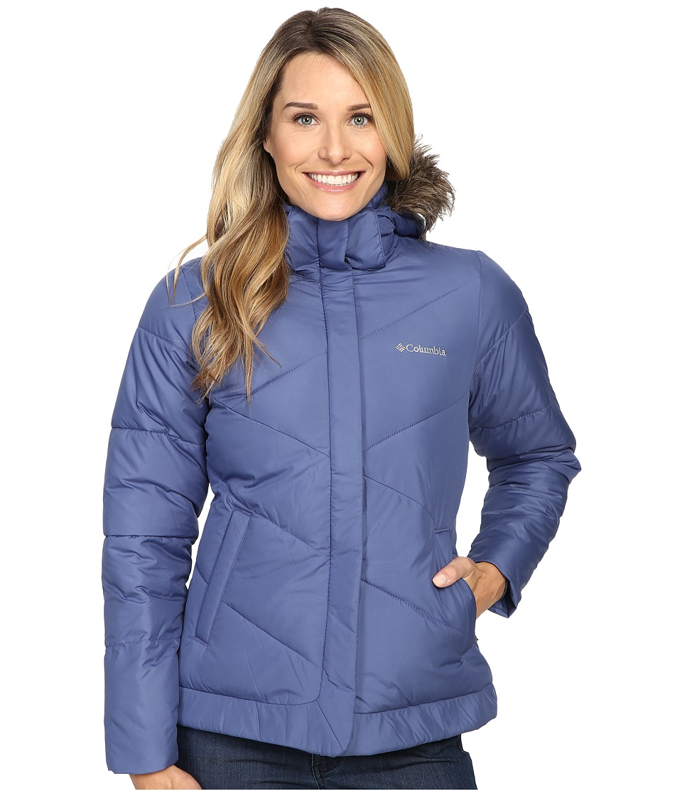 Columbia - Snow Eclipse Jacket (Bluebell) Women's Coat