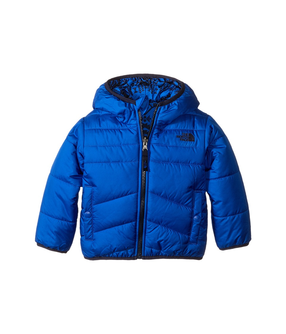 The North Face Kids - Reversible Perrito Jacket (Toddler) (Monster Blue) Boy