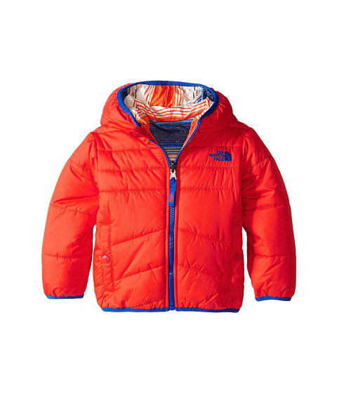 The North Face Kids - Reversible Perrito Jacket (Toddler) (Fiery Red) Boy