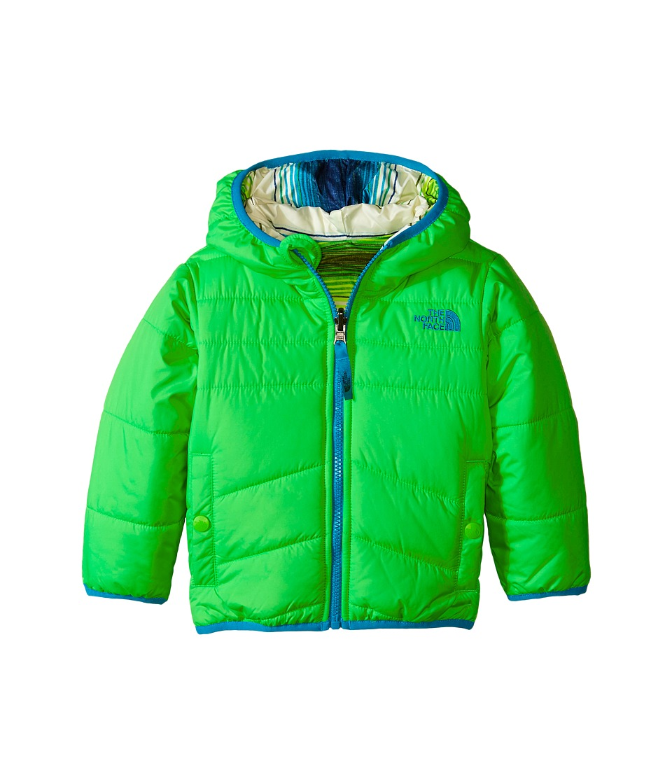 The North Face Kids - Reversible Perrito Jacket (Toddler) (Krypton Green) Boy's Coat