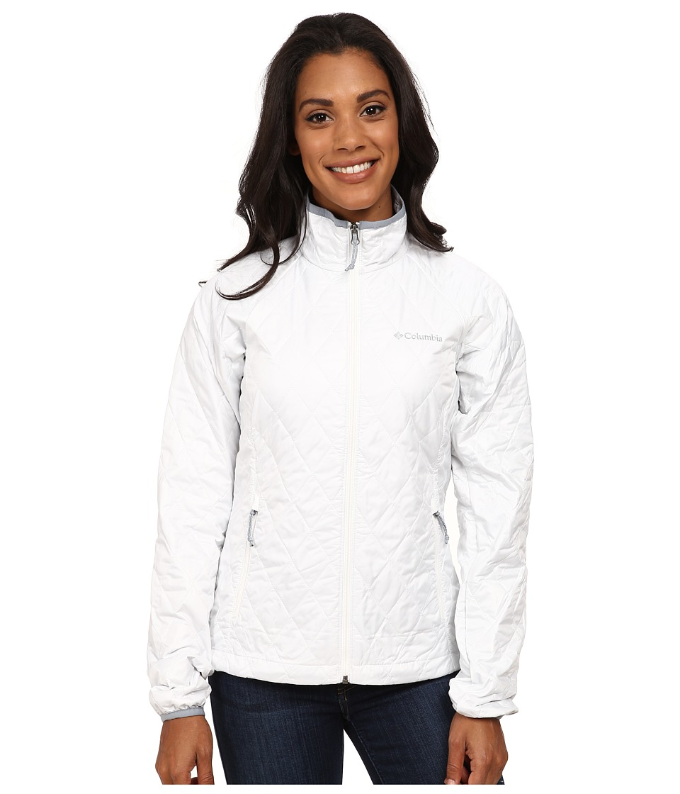 Columbia - Squaw Butte Jacket (White) Women's Coat