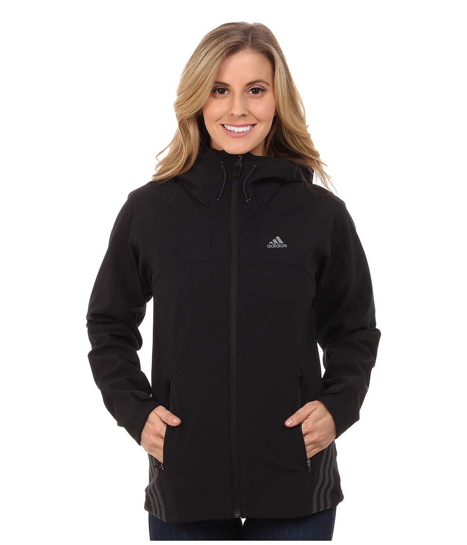 adidas Outdoor - Swift Soft Shell Hoodie (Black) Women's Sweatshirt
