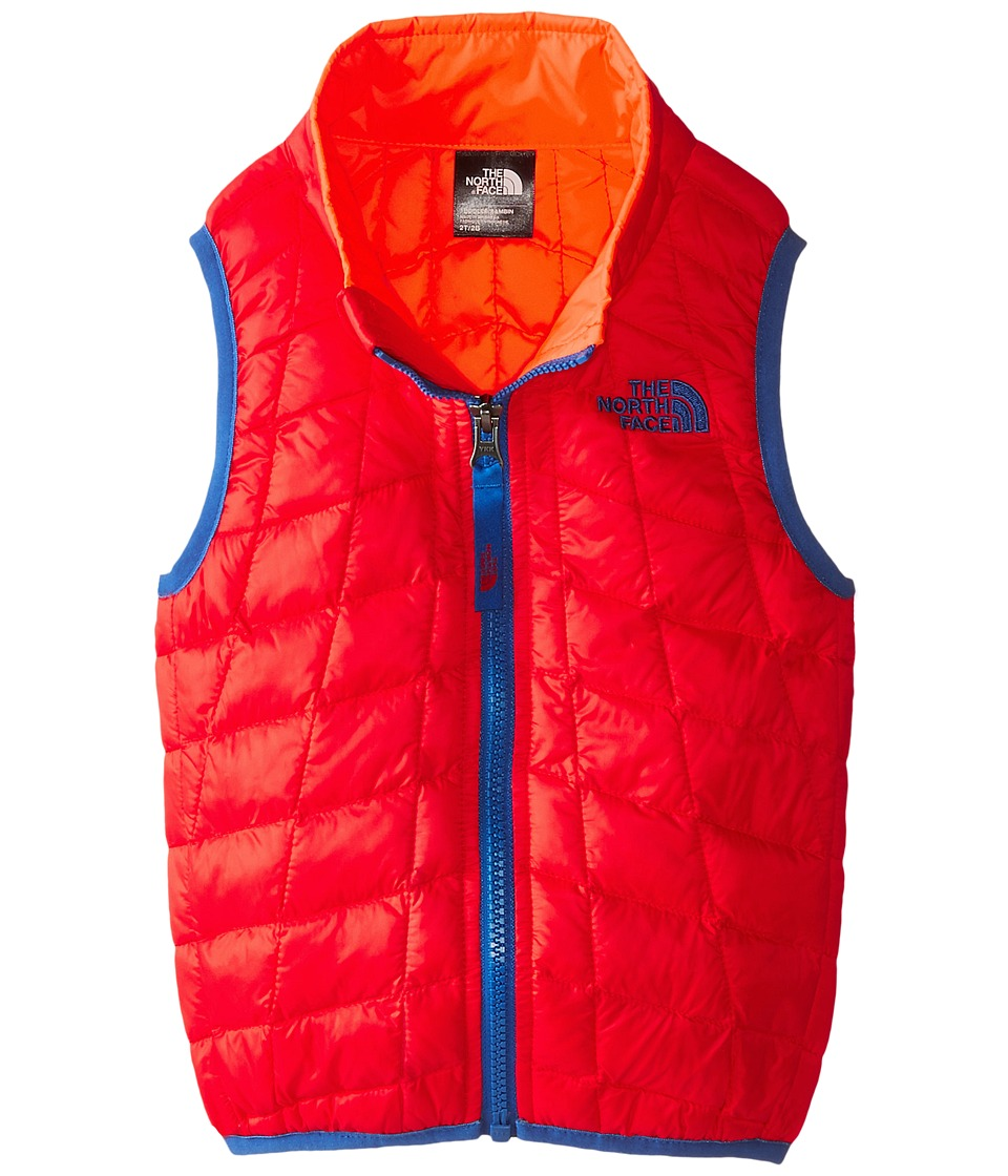 The North Face Kids - ThermoBall Vest (Toddler) (Fiery Red) Boy