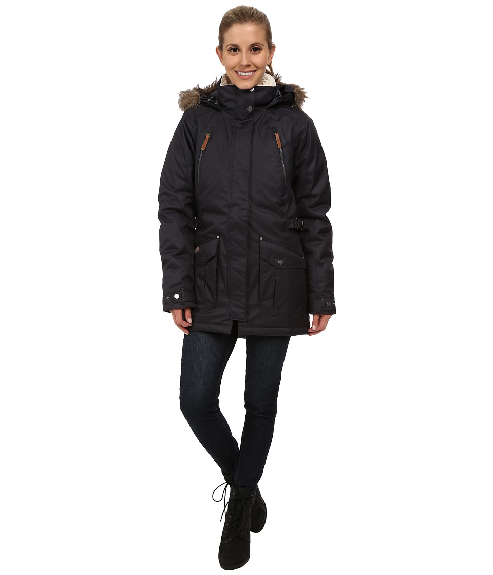 Columbia Barlow Pass 550 TurboDowntm Jacket (India Ink) Women