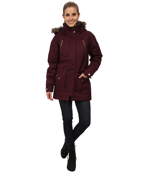 Columbia - Barlow Pass 550 TurboDown Jacket (Purple Dahlia) Women's Coat