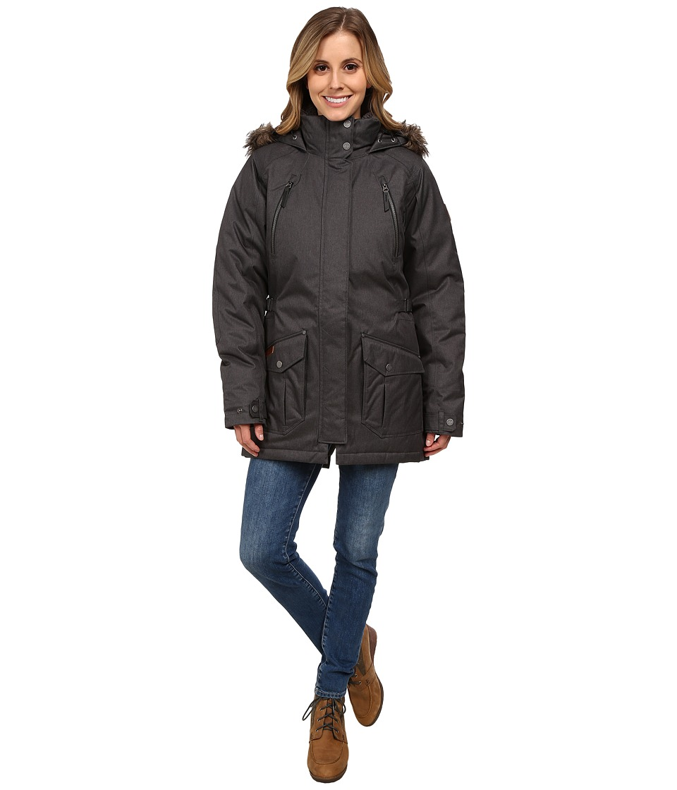 Columbia Barlow Pass 550 TurboDowntm Jacket (Black) Women