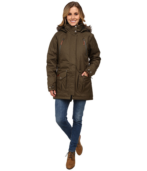 Columbia - Barlow Pass 550 TurboDown Jacket (Peatmoss) Women's Coat