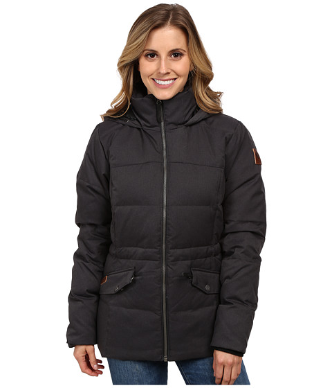 Columbia - Snowtopia Down Jacket (Black) Women's Coat