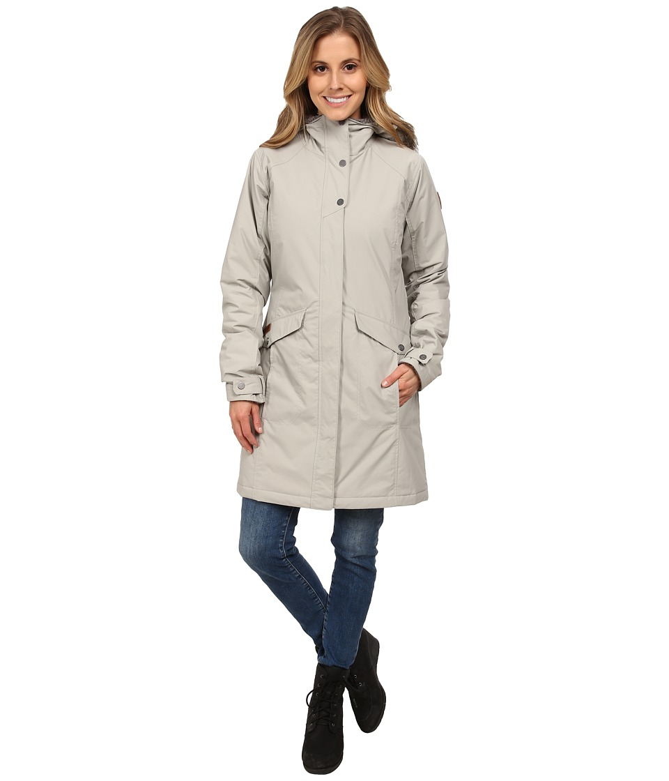 Columbia - Grandeur Peak Long Jacket (Flint Grey) Women's Coat