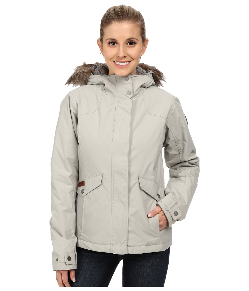 Columbia - Grandeur Peak Jacket (Flint Grey) Women's Coat