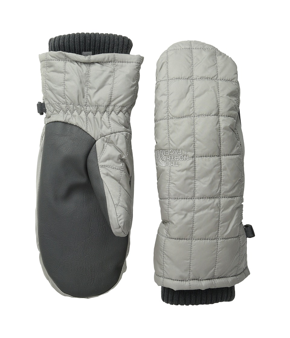 The North Face - Metropolis Mitt (Metallic Silver) Extreme Cold Weather Gloves