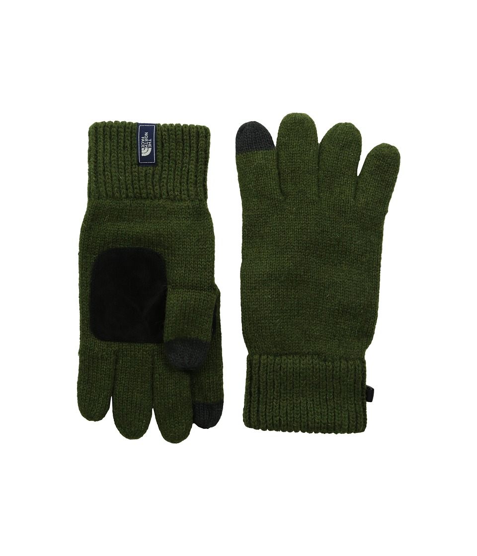 The North Face - Salty Dog Etip Glove (Scallion Green) Extreme Cold Weather Gloves