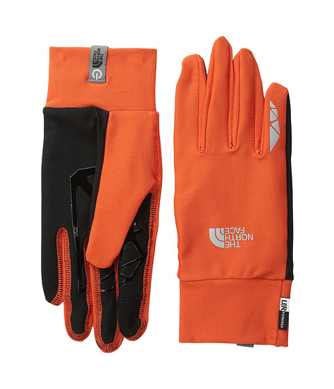 The North Face - Runners 1 Etip Glove (Acrylic Orange) Extreme Cold Weather Gloves
