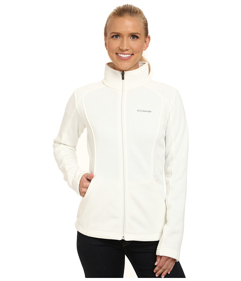 Columbia - Horizon Divide Fleece Jacket (Sea Salt Heather) Women's Coat