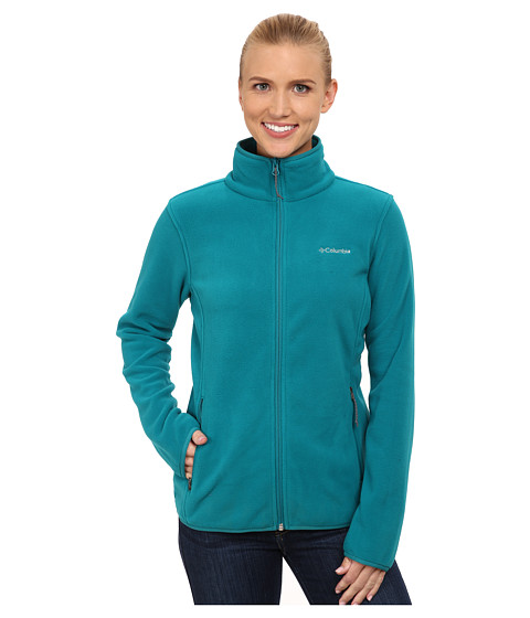 Columbia - Fuller Ridge Fleece Jacket (Emerald) Women's Coat