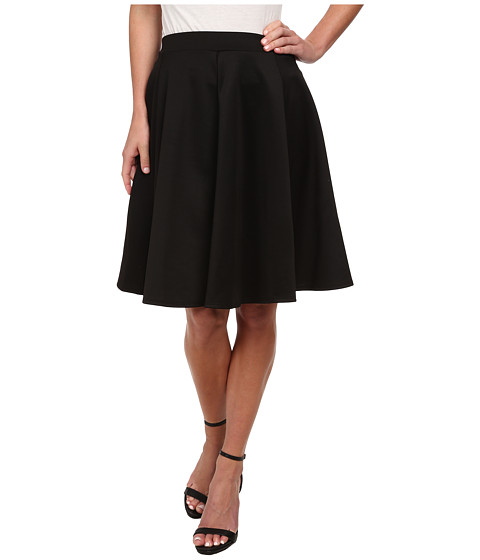Gabriella Rocha - Jenny Scuba Skirt (Black) Women's Skirt
