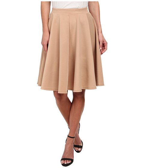 Gabriella Rocha - Jenny Scuba Skirt (Tan) Women's Skirt