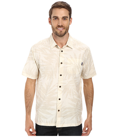 Jack O'Neill - Panama Wovens (Stone) Men's Short Sleeve Button Up
